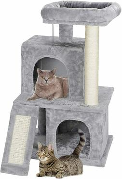 Nova Microdermabrasion 34 Inches Cat Tree Tower with Scratch