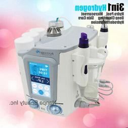 3in1 Roller Microcurrent Galvanic Wrinkle Hydrogen Hydra Spa
