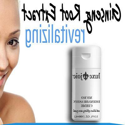 Microdermabrasion Cream Exfoliant Face Blemishes Scars