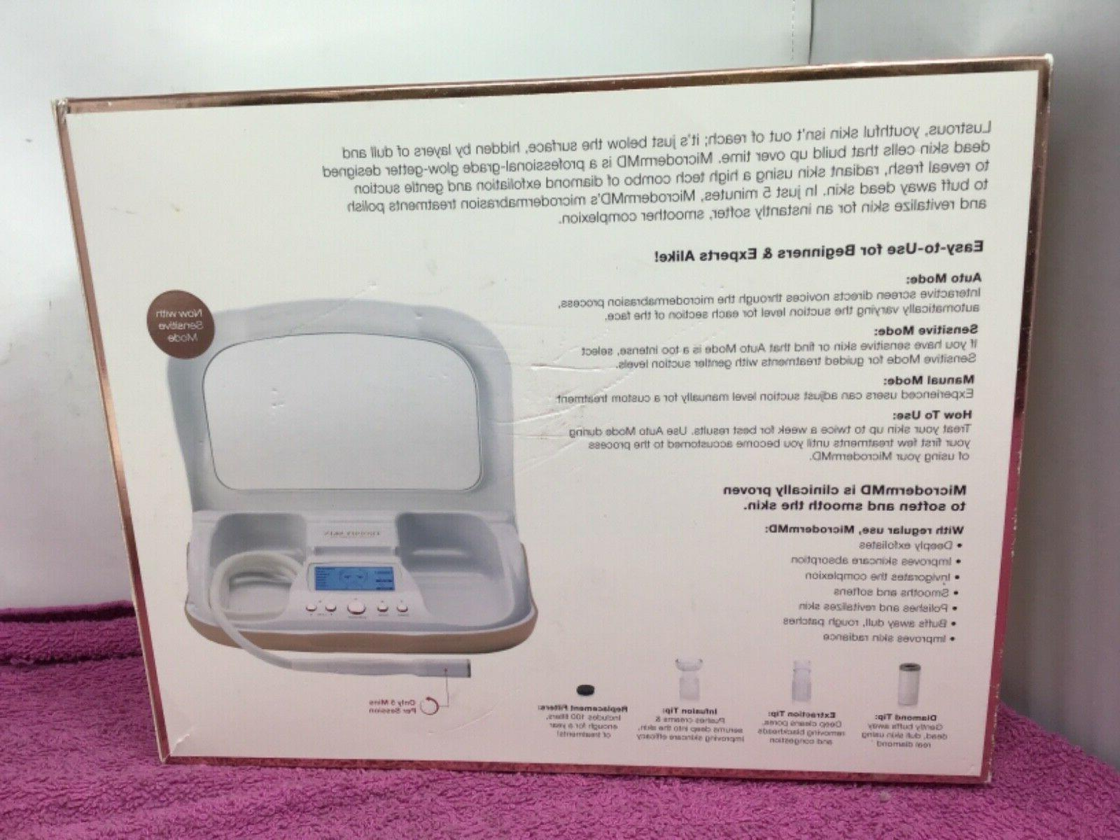 Trophy Skin Home Microdermabrasion System USED