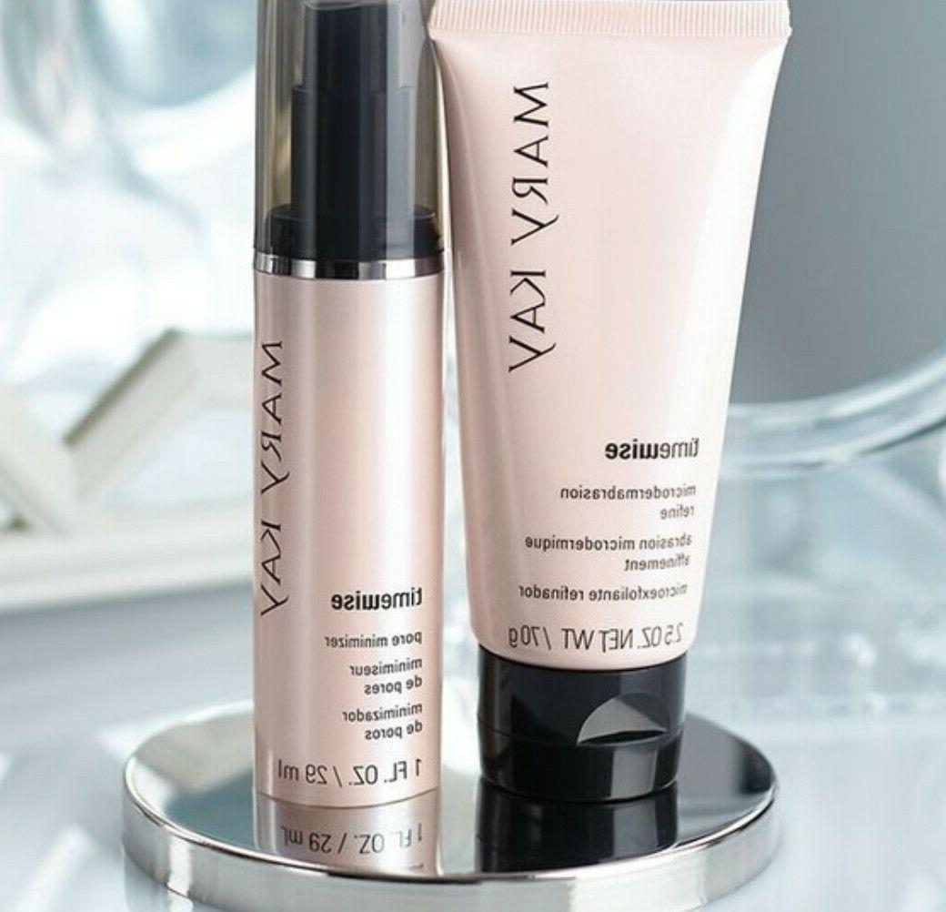 timewise microdermabrasion plus set refine pore minimizer